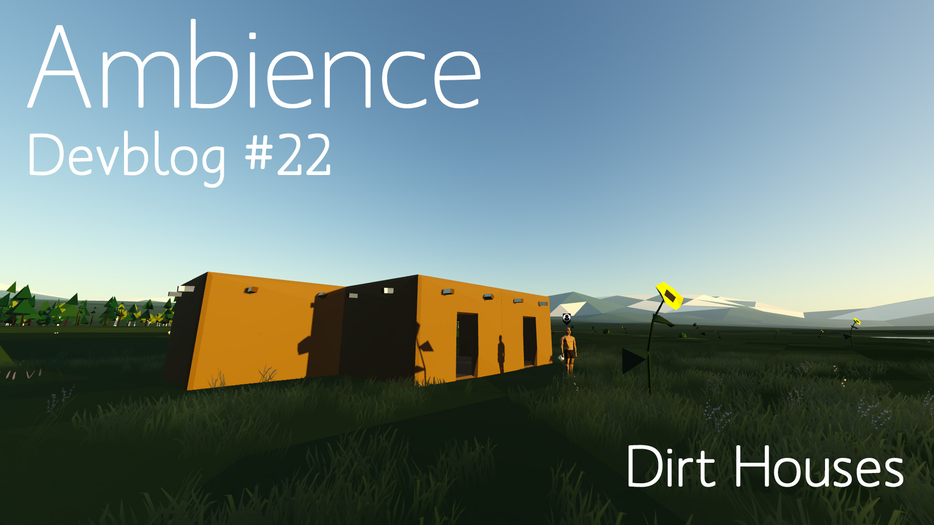 Video Devblog #22 - Dirt Houses feature image