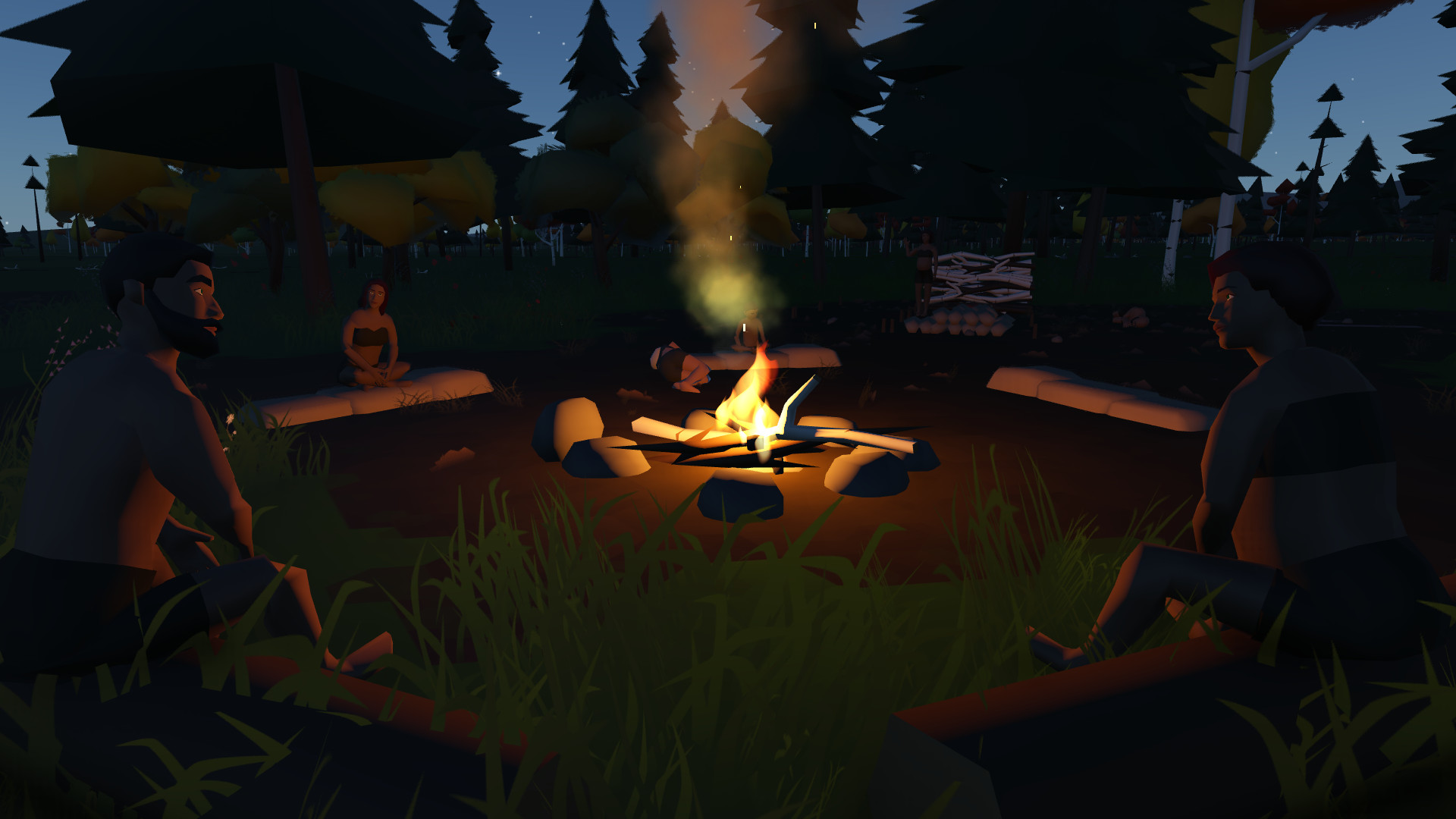 Video Devblog #49 - Gathering around the fire feature image